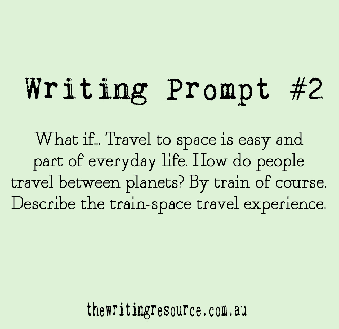 Writing Prompt #2