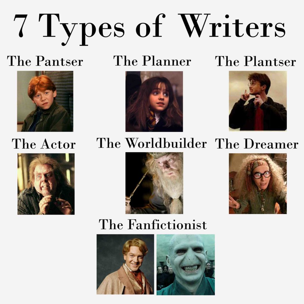 The 7 types of writers