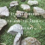 featured 12 strange words